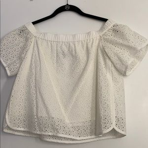 Rag and Bone off the shoulder top